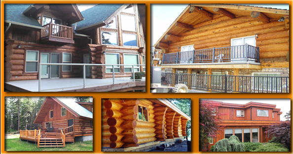 Log Home Stains & Finishes
