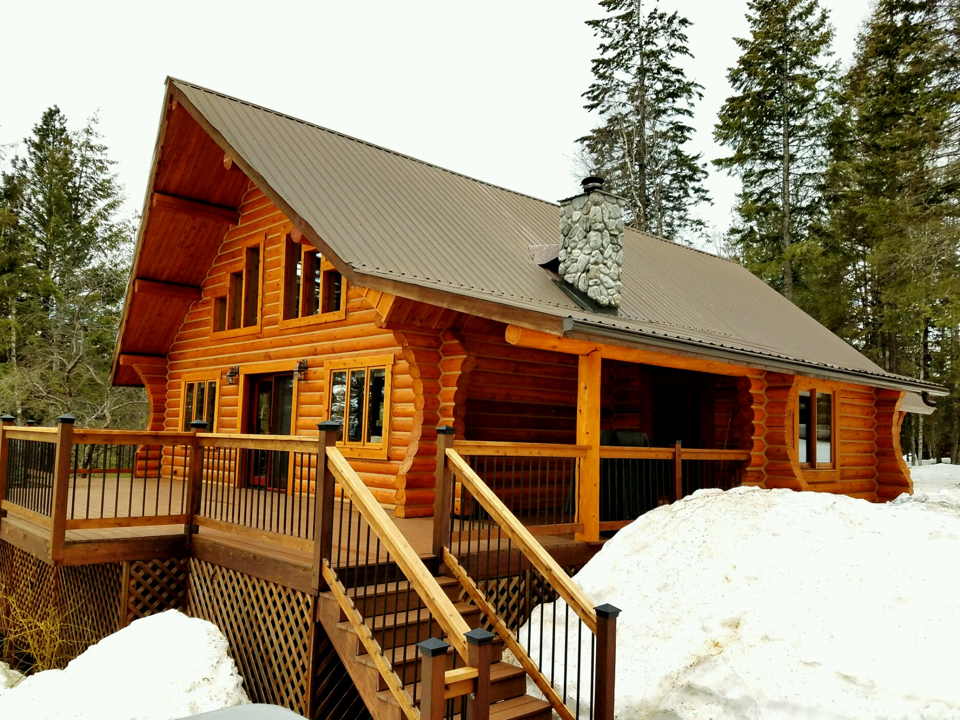 6 Point Spring Log Home Inspection