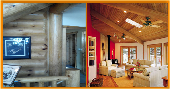 Log Home Interior Finishes